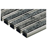 Решетка алюминиевая ACO Vario с войлоком (серый)
