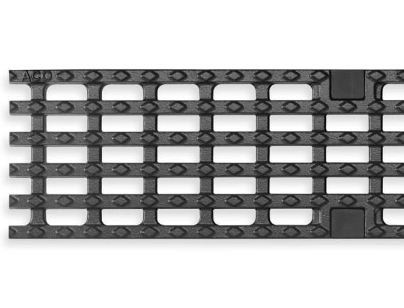 Решетка для каналов ACO Multiline V100 сетчатая (из чугуна сфероидального, С 250)
