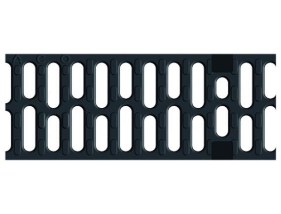Решетка для каналов ACO Multiline V100 в виде поперечных мостиков (из чугуна сфероидального, С 250)