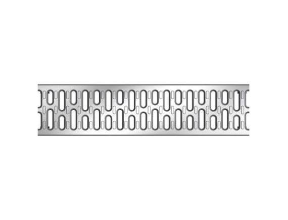 Решетка для каналов ACO Multiline V100 в виде поперечных мостиков (оцинкованная)