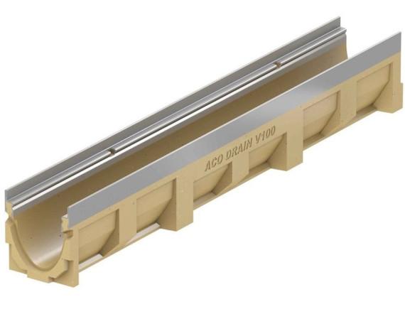 Водоотводный канал ACO Multiline V100 (без решетки)
