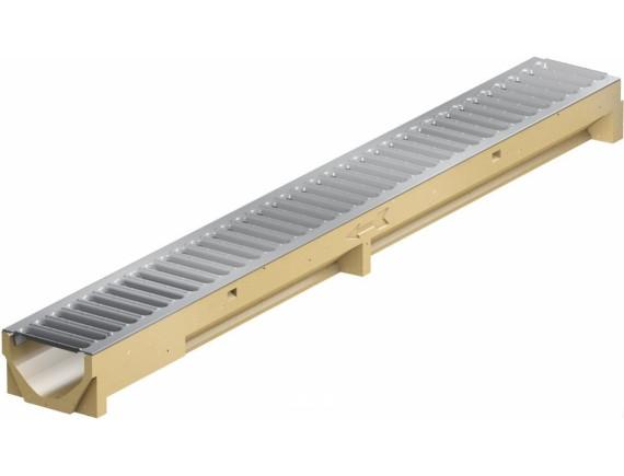 Водоотводный канал ACO Self Mini (с оцинкованной решеткой)
