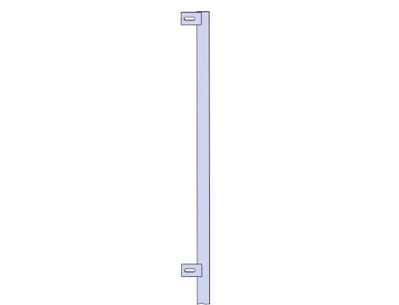 Столб концевой для пешеходного ограждения