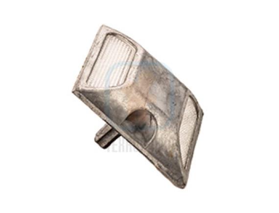 Светоотражатель дорожный КД-3-2 алюминиевый