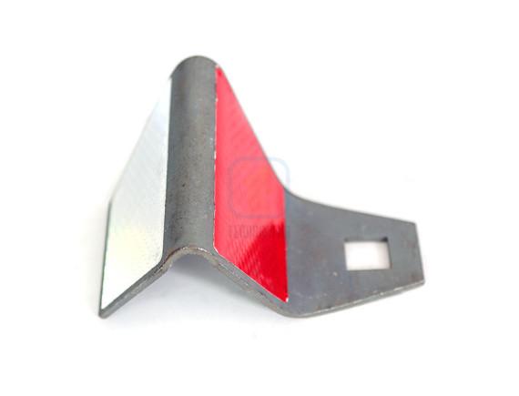 Светоотражатель дорожный КД-5 металл 3мм