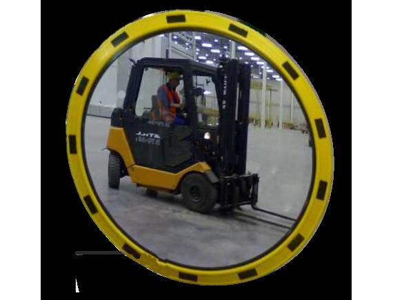 Зеркало индустриальное круглое