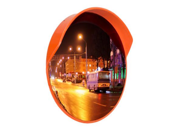 Зеркало сферическое с козырьком