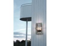 Уличный настенный светильник Norlys Basel Steel