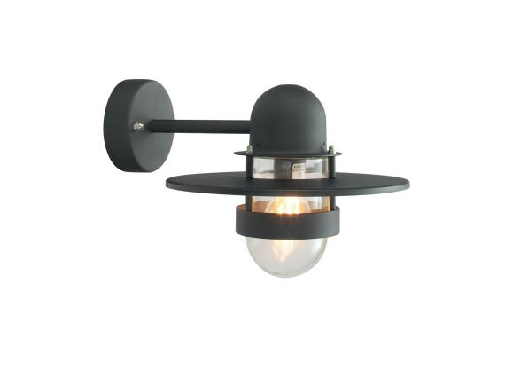 Уличный настенный светильник Norlys Bergen Black