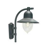 Настенный уличный светильник Norlys Como Black