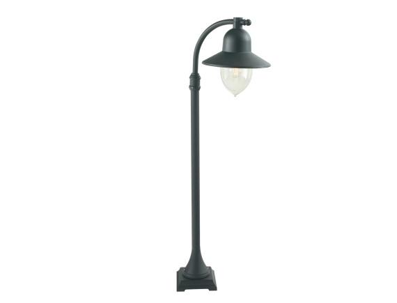 Уличный фонарь на короткой опоре Norlys Como Black