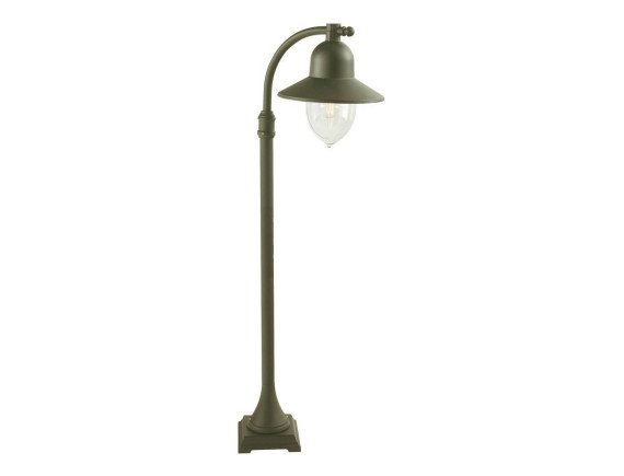Уличный фонарь на короткой опоре Norlys Como Bronz