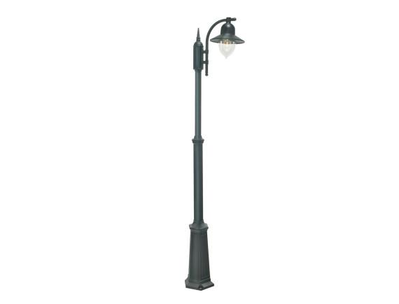 Уличный фонарь на высокой опоре Norlys Como Black