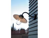 Настенный уличный светильник Norlys Karlstad wall Black