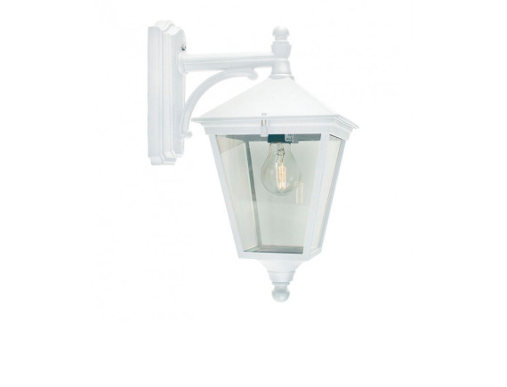 Уличный настенный светильник Norlys London 481 White