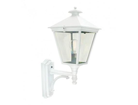 Уличный настенный светильник Norlys London 490 White (большой)