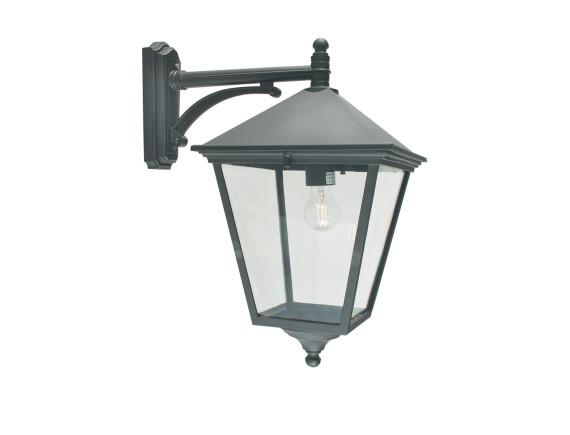 Уличный настенный светильник Norlys London 493 Black (большой)