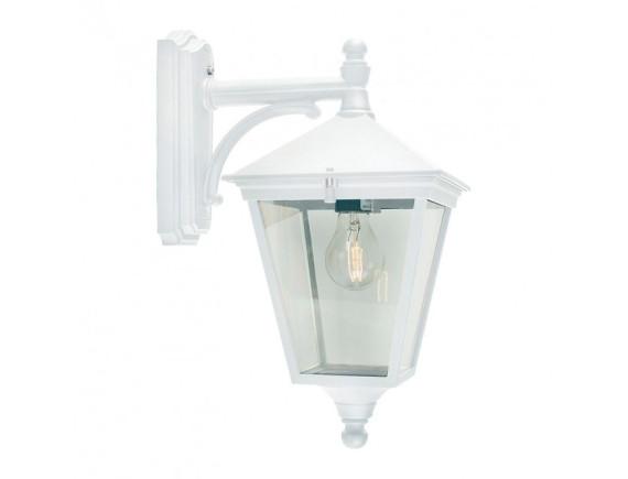 Уличный настенный светильник Norlys London 493 White (большой)