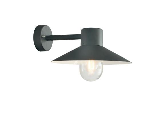 Уличный настенный светильник Norlys Lund Black