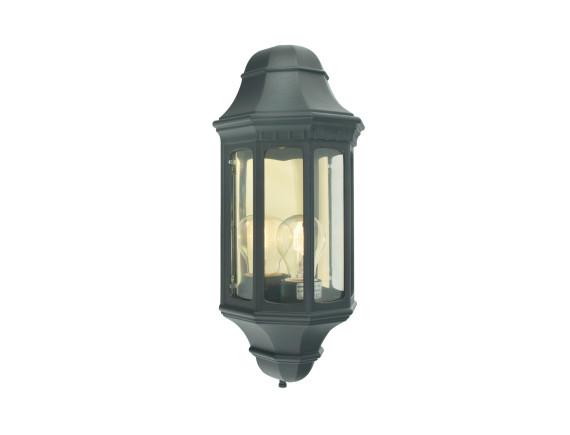 Настенный уличный светильник Norlys Genova Black