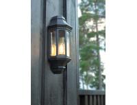Настенный уличный светильник Norlys Genova Black (маленький)
