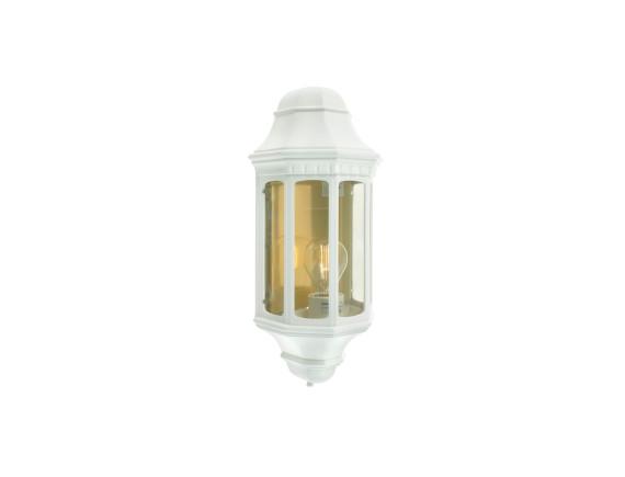 Настенный уличный светильник Norlys Genova White (маленький)