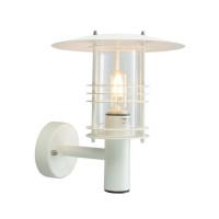 Настенный уличный светильник Norlys Stockholm White (большой)