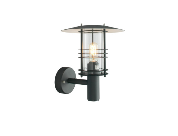 Настенный уличный светильник Norlys Stockholm Black