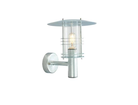 Настенный уличный светильник Norlys Stockholm Galvanized