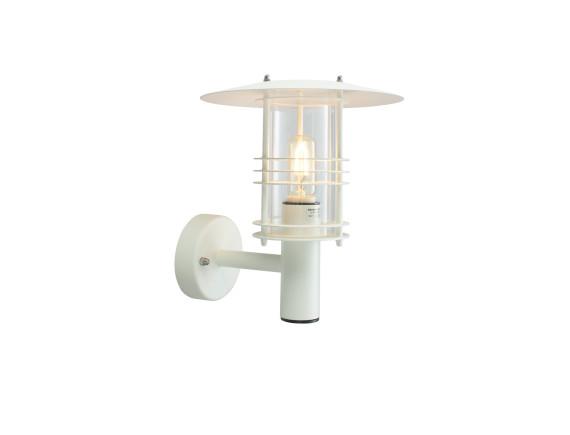 Настенный уличный светильник Norlys Stockholm White