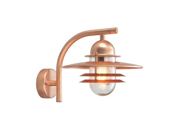 Настенный уличный светильник Norlys Oslo wall Copper