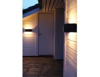 Настенный уличный светильник Norlys Vasa White