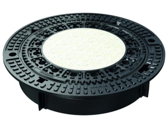 Канализационный люк чугунный ACO Bituplan под заполнение (круглый, 600мм)