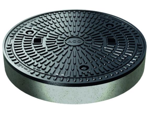 Канализационный люк чугунный ACO Multitop (круглый, 600мм, герметичный)