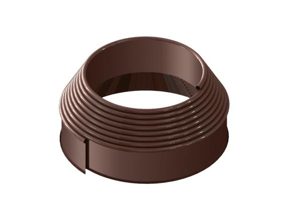 Бордюрная лента Кантри, коричневая