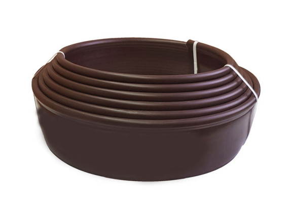 Бордюрная лента Кантри Мини, коричневая