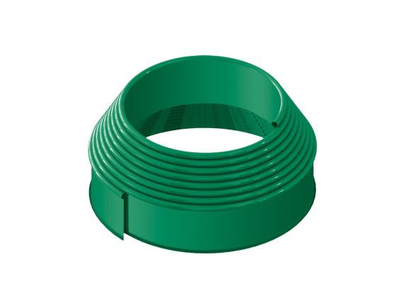 Бордюрная лента зеленая