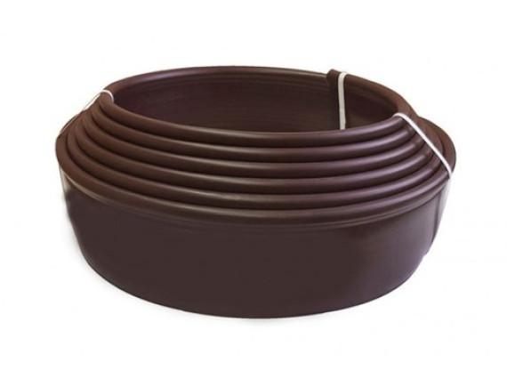 Бордюрная лента коричневая