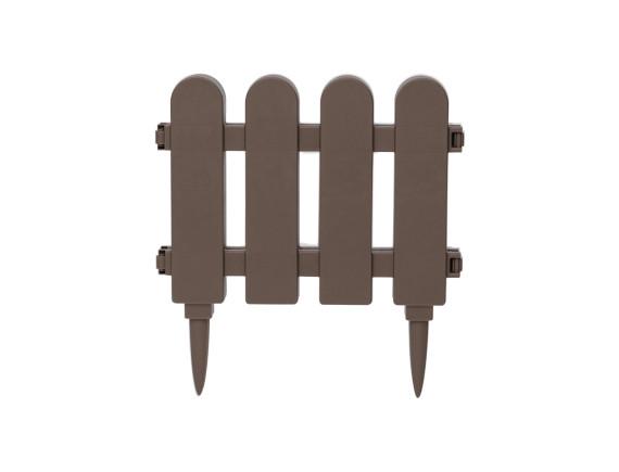 Забор декоративный садовый DRINA (бежево-коричневый)
