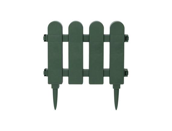 Забор декоративный садовый DRINA (зеленый)