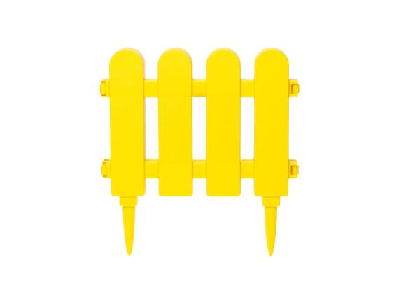 Забор декоративный садовый DRINA (желтый)
