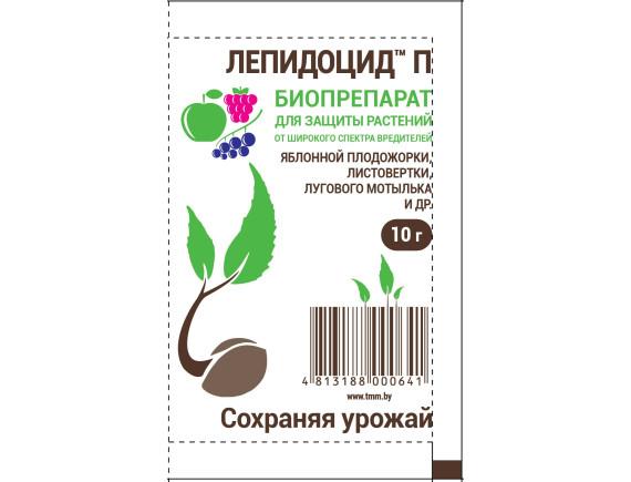 Средство от насекомых-вредителей Лепидоцид П