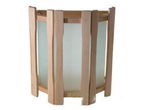 Абажур для бани прямой с тремя стеклами