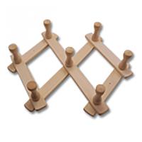 Вешалка для бани раздвижная (7 крючков)