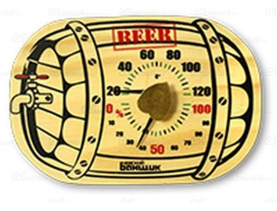 "Термометр для бани и сауны ""Бочка"""