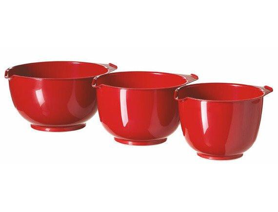 Миски в наборе 3 шт Curver (красный)