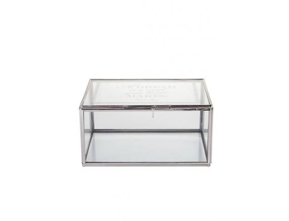 Шкатулка стеклянная для украшений Lene Bjerre, S