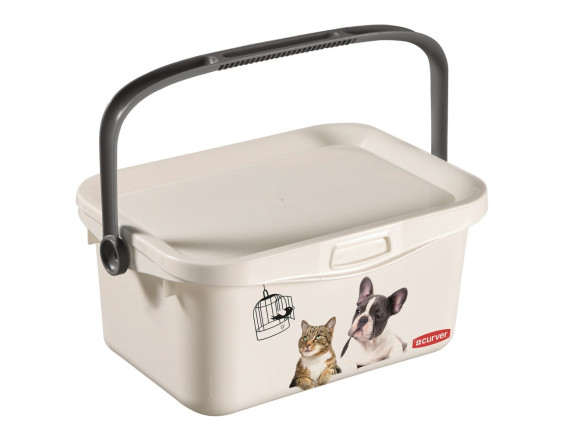 Контейнер для корма Curver Petlife Multiboxx Pet Life 3L (белый)