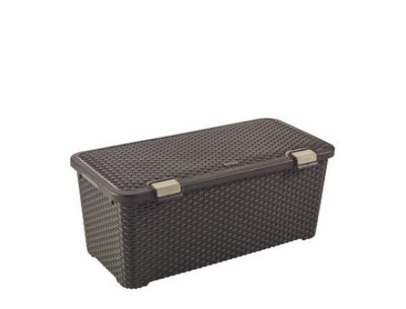 Ящик для хранения Curver Rattan Style Trunk 72L (коричневый)
