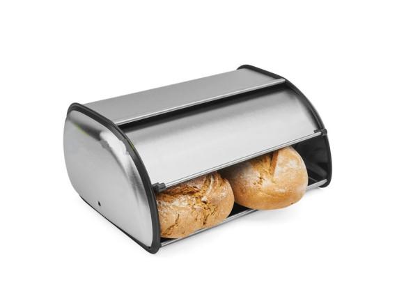 Хлебница Feniks малая из матовой нержавеющей стали